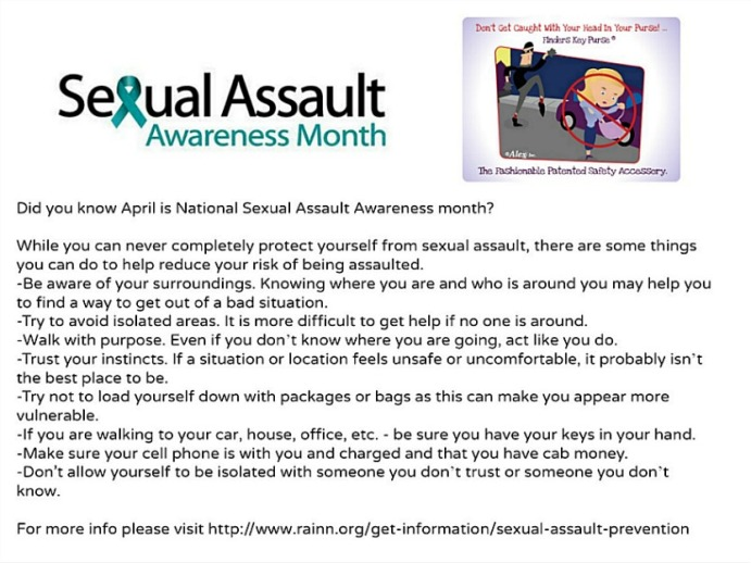sexual assault awareness april